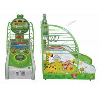 China Kiddie Lovely Little Pig Basketball Game Machine Coin OP Arcade Machines on sale
