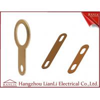 Best Copper / Bronze Cable Earth Link For Cable Tray Laddle Trunking 72mm 89mm Length wholesale