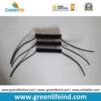 Best Semi-finished Black Spring Spiral Coil Cables Custom 40MM Length 50MM Lines on Ends wholesale