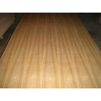 China Teak Faced decorative Plywood sheets With 2.4mm In Package Box on sale