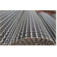 Best Flat Wire Mesh Conveyor Belt With Staininless Steel Used In Heavy Machinery wholesale