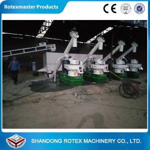 Best Six Generation Wood Pellet Equipment 2-3 Tons Per Hour Biomass Pellet Production Line wholesale