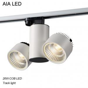 Best 3 Lines 90degree/120degree/60degree COB LED 26W Track light /LED Track lighting wholesale