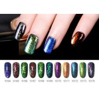 Best Mysterious Color Smooth Nature UV Brocade Glitter Gel Nail Polish No Odor No Toxic wholesale