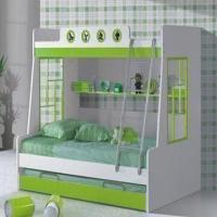 Buy cheap Kids'/Children's Colorful Bunk Bed with Ladder, Multi-functional Bed, Space from wholesalers