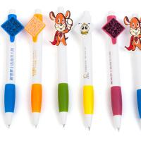 China Novelty  Promotional Custom Printing Pen Clip Plastic Personalised Ballpoint Pens on sale