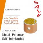 Best Acetal Resin Liner Metal-Polymer Self Lubricating Sleeve Bushing Thin Wall Burnishing Boring Turning Reaming Assemby wholesale