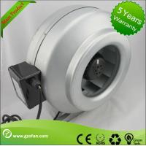 Best galvanised Sheet Steel Inline Circular Duct Fan Class F Low Noise wholesale
