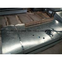 Best Custom Cutting Galvanized Steel Sheet / Gl Sheets 24 Gauge for Roofing wholesale