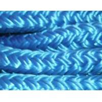 Buy cheap blue double braidced polyester nylon mooring rope from wholesalers