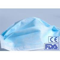 Best Anti Germs 3 Ply Disposable Medical Face Mask Breathable With Elastic Earloop wholesale