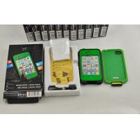 Best Green Dustproof Waterproof Cell Phone Case Lifeproof For Iphone 4s wholesale