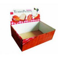 Best Light Duty Countertop Candy Display Box With Coating Paper, Glossy Lamination wholesale