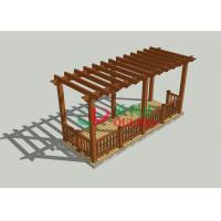 Cheap Veranda Home Depot Pergola 7m * 2.5m * 2.85m , Durable Free Standing Pergola Kits for sale