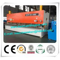 Best Steel Plate E21S NC Hydraulic Swing Beam Shear Hydraulic Guillotine Shearing Machine wholesale