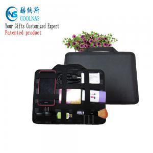 Best Neoprene Grid It Gadget Organizer , Waterproof Electronics Organizer For Travel wholesale