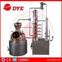 Best 200L automatic  alcohol wine distiller copper equipment for vodka making wholesale