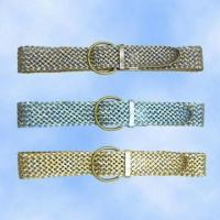 China Woven Belt Crafted by Hand, Different Colors Available on sale