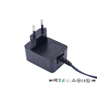 Buy cheap CE GS Certificate EU Plug 12V 1A AC DC Power Adapter For Router from wholesalers