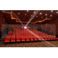 Best Upscale 4D Cinema System With Motion Chair And Cinema Special Effects wholesale