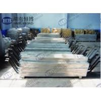 Best Aluminum anode defend corrosion of steel structures in seawater and fresh water environment wholesale