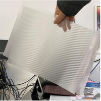 Buy cheap plastic raw material 70LPI PET 0.9MM 60X80CM for 3d lenticular printing by from wholesalers