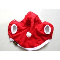 China Christmas Tiny Dog Xmas Dress Warm Clothes Outfit For Winter on sale