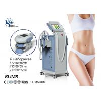 Best 4 Handpieces Cold Lipolysis Criolipolisis Slimming Machine , Body Weight Loss Sculpting Machine wholesale