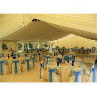 Best White PVC Canopy Wedding Event Tents 20x30m Aluminum Alloy Clear Span Marquee wholesale