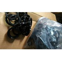 China Black NBR O Ring , 8-12Mpa Silicone Rubber Washers for Industrial Seal on sale