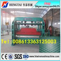 Quality Full automatic expanded metal mesh making machine/expanded metal sheet machine wholesale