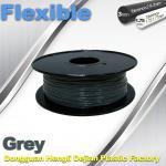 Best Rapid Prototyping 1.75 / 3.00mm Flexible 3d Printer Filament  0.8KG / Roll wholesale