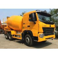 Best SINOTRUK HOWO A7 6x4 9m3 Concrete Construction Equipment With 59% Stuffing Volume wholesale