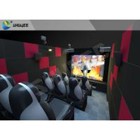 Best 9 Seats Individual 5D Cinema System with Camera and Financial System wholesale