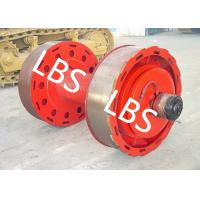 Best 10ton 20ton Smooth Wire Rope Winch Drum With Split Type Lebus Groove Sleeve wholesale
