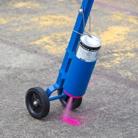 Buy cheap Thermoplastic Acrylic Aerosol Spray Paint 3min Drying 100m Length from wholesalers