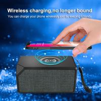 Mobile Portable Bluetooth Speaker with Radio and Built-in Lithium Battery