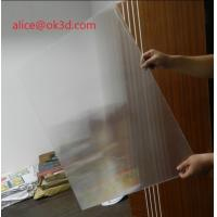 Best 3D effects lenticular sheet materials 25 lpi 4mm thickness lenticular for uv flatbed printer and inkjet print wholesale