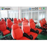 Best 6 Seats Luxury Mobile 7d Theater Pneumatic / Hydraulic / Electronic Systems wholesale