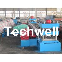 Best 30KW, 3 Phase 50Hz 2 Wave Beam Roll Forming Machine With 10 - 12m/min Working Speed wholesale