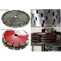 Best Crack Chasing Tuck Point Diamond Blades , Diamond Cutting Saw Blade 125mm 180mm 300mm wholesale