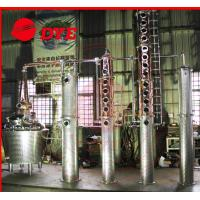 Best Semi-Automatic Whiskey Distilling Equipment , Home Alcohol Distiller Machine wholesale