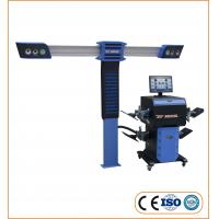 Best Accurate 3D Wheel Alignment Machine Measure Wheel Angles 110-220V With 4 Cameras wholesale