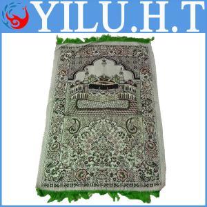Best 100% polyester muslim and islamic portable velvet prayer mat carpet wholesale
