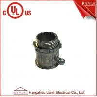 "Best Electrical Conduit EMT Connector Zinc Die Casting UL Listed 1/2"" to 4"" Available wholesale"