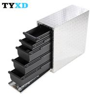 Best Professional Metal Tool Storage Box , Metal Hand Carry Tool Boxes wholesale