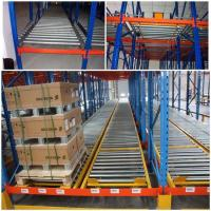 Best Custom Size Warehouse Pallet Live Racking Multi Function Powder Coating Finish wholesale
