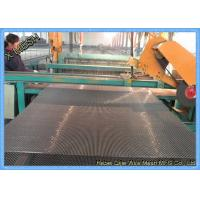 China Rust Resistant Mining Vibrating Screens Mesh Manganese Steel And Polyurethane Material on sale