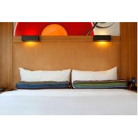 Best HPL Laminate plywood hotel furniture liquidators Guest rooms Wood Headboards with Wall panels wholesale