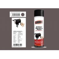Best Light Green Animal Marking Spray Paint For Pig With MSDS Certification wholesale